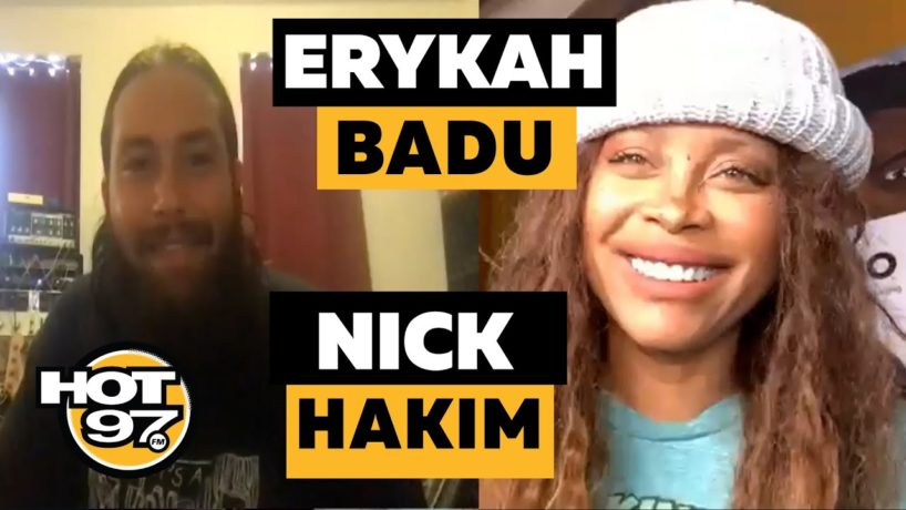 Erykah Badu & Nick Hakim On Ebro in the Morning
