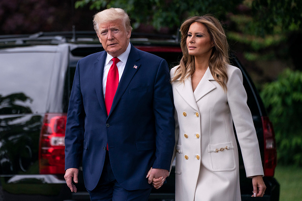 President Donald Trump Announces He And Melania Trump Tested Positive For  COVID-19 | Hot97