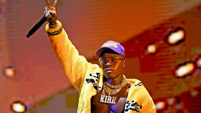 UNSPECIFIED - AUGUST 2020: DaBaby performs onstage during the 2020 MTV Video Music Awards, broadcast on Sunday, August 30, 2020.