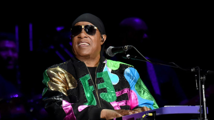 LONDON, ENGLAND - JULY 06: (EXCLUSIVE COVERAGE) Stevie Wonder performs on Day 2 of Barclaycard Presents British Summer Time Hyde Park at Hyde Park on July 6, 2019 in London, England.