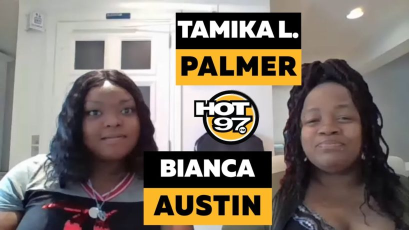 Tamika Palmer & Bianca Austin On Ebro in the Morning