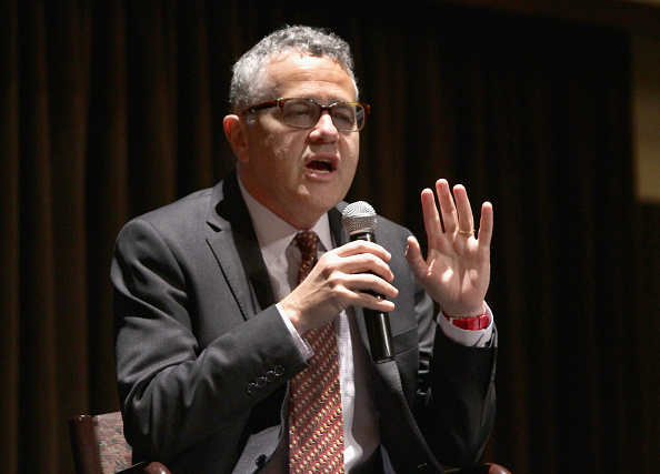 Author Jeffery Toobin attends book signing during the Palm Beach book Festival at Florida Atlantic College on April 21, 2017 in Palm Beach, Florida.