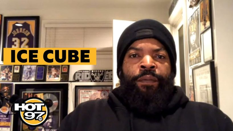 Ice Cube On Ebro in the Morning