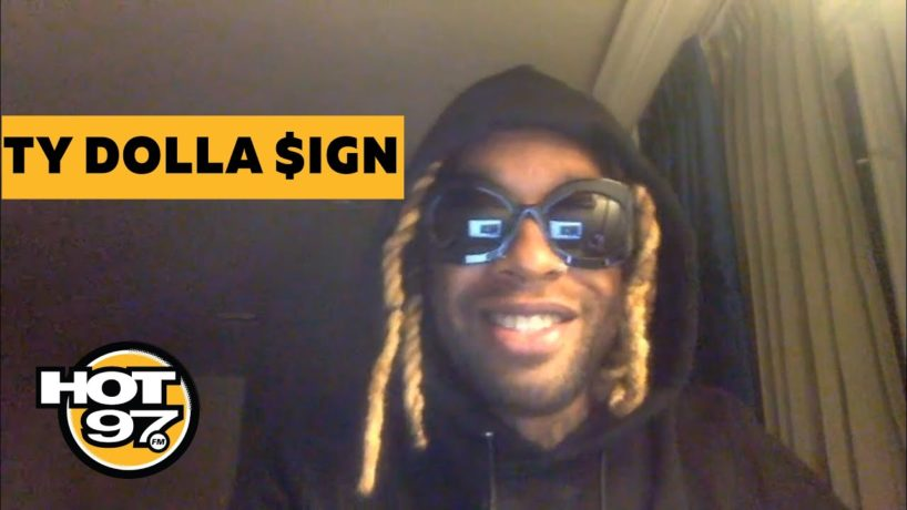 Ty Dolla $ign on Ebro in the Morning