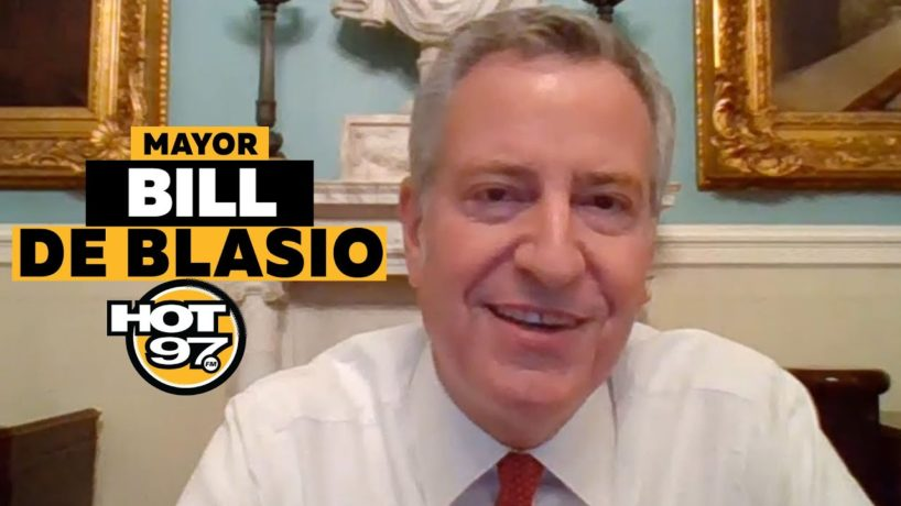 Mayor Bill DeBlasio On Ebro in the Morning