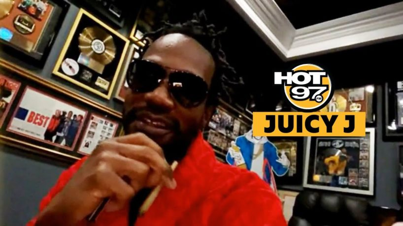 Juicy J on Ebro in the Morning