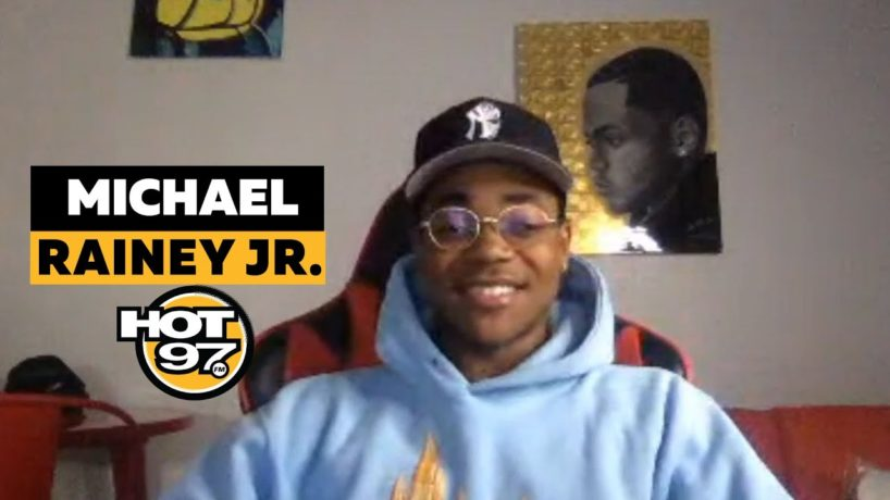 Michael Rainey JR. On Ebro in the Morning