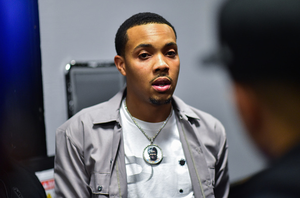 Rapper G Herbo backstage during The PTSD Tour In Concert at The Tabernacle on March 11, 2020 in Atlanta, Georgia.