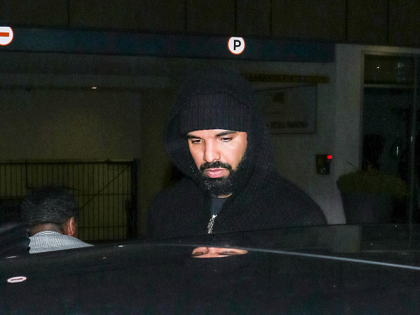 Drake is seen on March 10, 2020 in Los Angeles, California.
