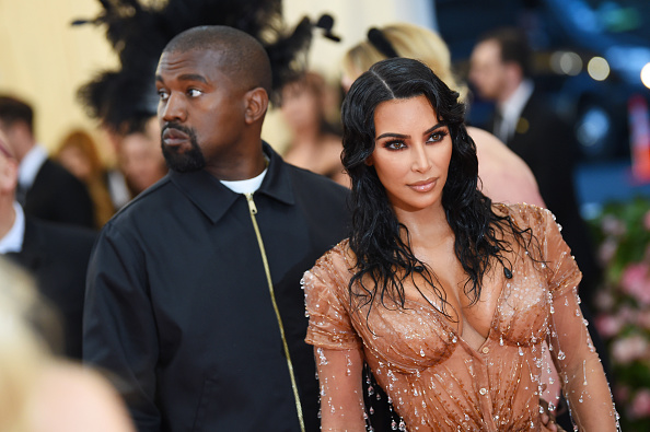 NEW YORK, NEW YORK - MAY 06: Kim Kardashian West and Kanye West attend The 2019 Met Gala Celebrating Camp: Notes on Fashion at Metropolitan Museum of Art on May 06, 2019 in New York City.
