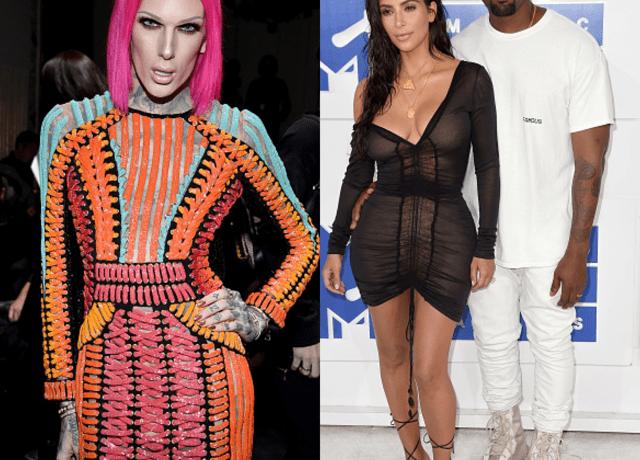 Jeffree Star, Kanye West, Kim Kardashian