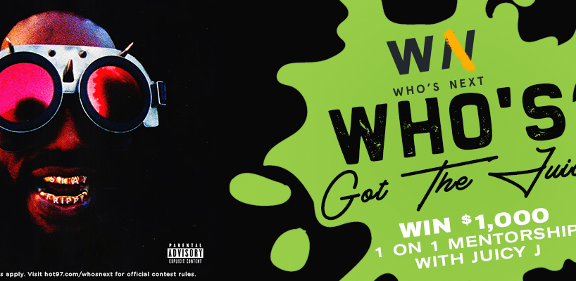 Who's Got The Juice Contest Graphic