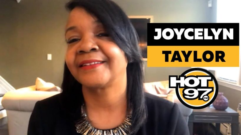 Joycelyn Taylor On Ebro in the Morning