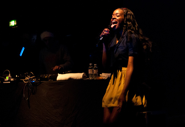 Azealia Banks performs on stage at KOKO on December 10, 2011 in London, United Kingdom.