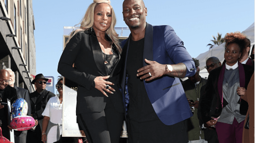 Mary J. Blige X Tyrese