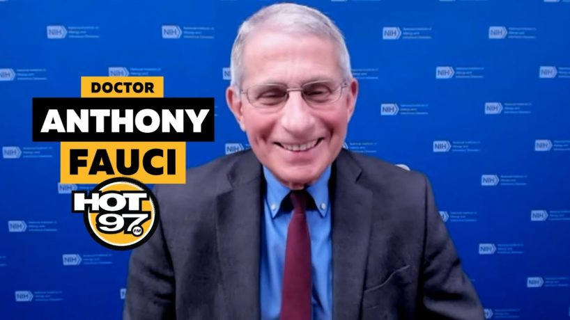 Dr. Anthony Fauci on Ebro in the Morning