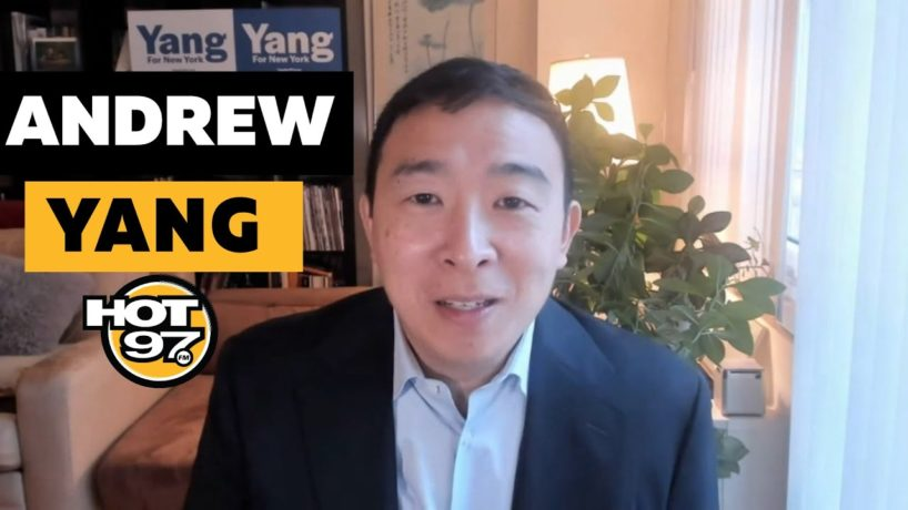 Andrew Yang On Ebro in the Morning