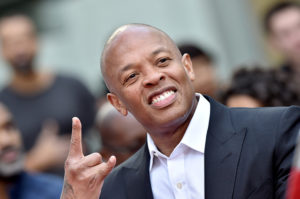 Dr. Dre attends the Hand and Footprint Ceremony honoring Quincy Jones at TCL Chinese Theatre IMAX on November 27, 2018 in Hollywood, California.