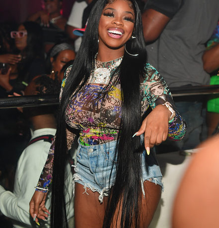 ATLANTA, GA - SEPTEMBER 06: JT of the group City Girls attend The City Girls Labor Day Weekend Takeover at Republic Lounge on September 6, 2020 in Atlanta, Georgia.