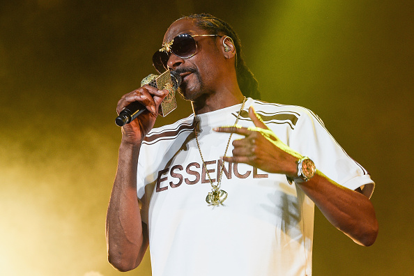 Snoop Dogg performs during the 2018 Essence Music Festival at the Mercedes-Benz Superdome on July 6, 2018a in New Orleans, Louisiana.