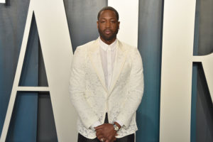 FEBRUARY 09: Dwyane Wade attends the 2020 Vanity Fair Oscar Party at Wallis Annenberg Center for the Performing Arts on February 09, 2020 in Beverly Hills, California.