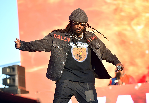 Rapper Wale performs onstage during day 2 of the Rolling Loud Festival at Banc of California Stadium on December 15, 2019 in Los Angeles, California.