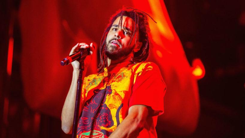 SEATTLE, WA - SEPTEMBER 01: J. Cole performs at Bumbershoot at Seattle Center on September 1, 2018 in Seattle, Washington.