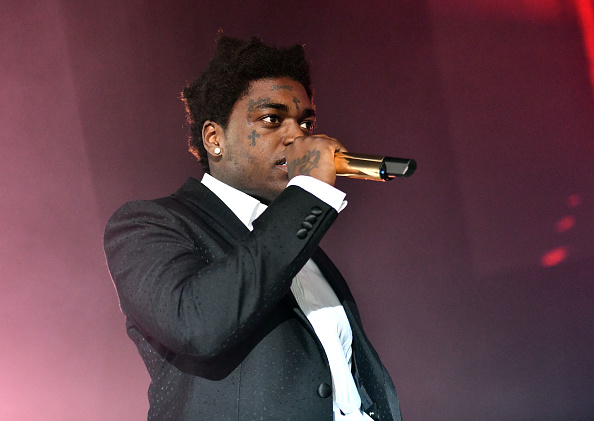 Rapper Kodak Black performs onstage during the 'Dying to Live' tour at Hollywood Palladium on March 20, 2019 in Los Angeles, California.