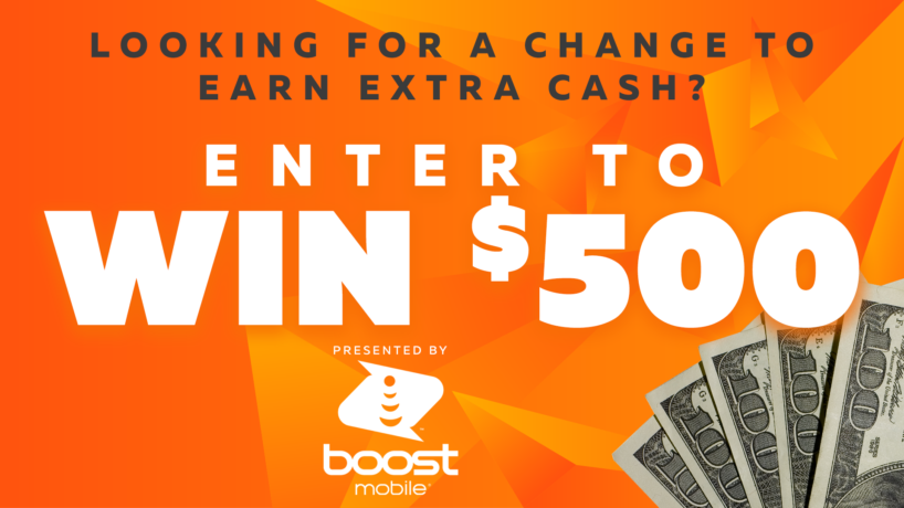 Looking for a chance to earn extra cash? Enter to WIN $500