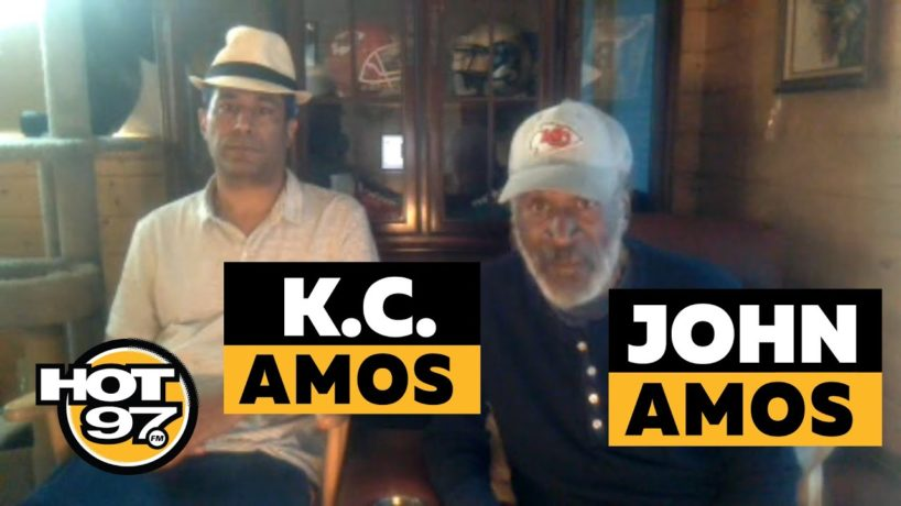 John & K.C. Amos On Ebro in the Morning