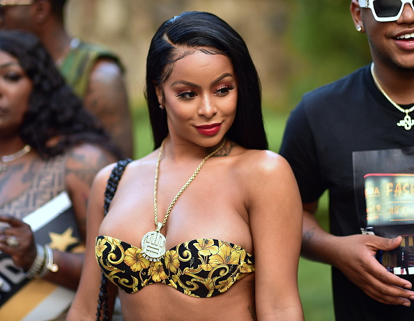 Alexis Skyy attends Trouble's Winners Only Pool Party on August 4, 2019 in Atlanta, Georgia.