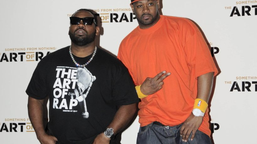 Raekwon and guest Film premiere of 'Something From Nothing: The Art of Rap' held at the HMV Apollo London, England - 19.07.12 Featuring: Raekwon and guest Where: London, United Kingdom When: 19 Jul 2012