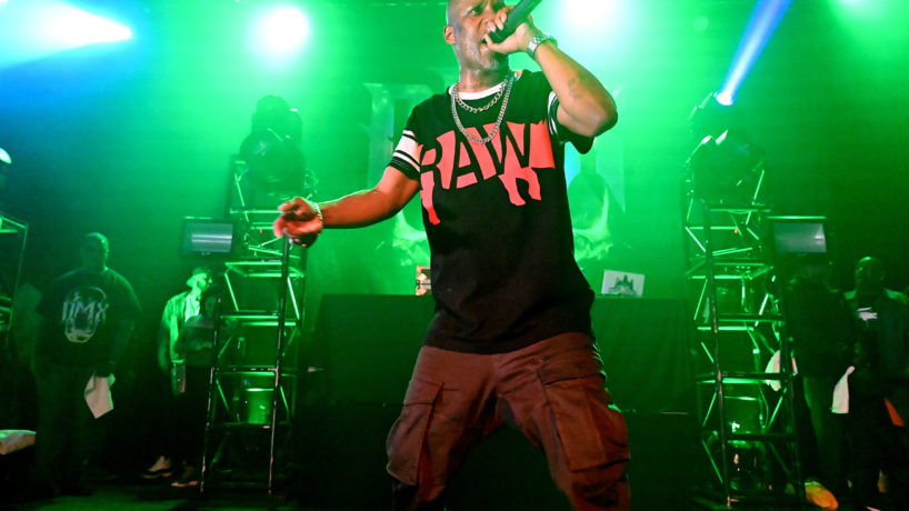 """Rapper DMX on the """"In Celebration of DMX It's Dark and Hell Is Hot 20th Anniversary Tour"""" performs at the Chicago House of Blues on May 4, 2019 in Chicago, IL, USA - dmx"""