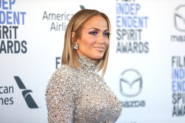 SANTA MONICA, CALIFORNIA - FEBRUARY 08: Jennifer Lopez attends the 2020 Film Independent Spirit Awards on February 08, 2020 in Santa Monica, California.