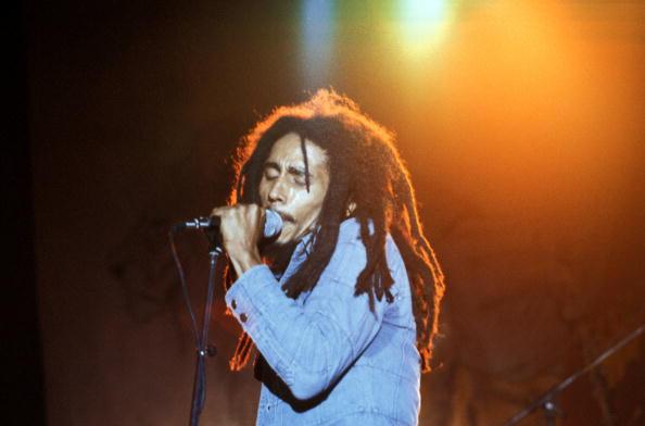 USA Photo of Bob MARLEY, Bob Marley performing live on stage
