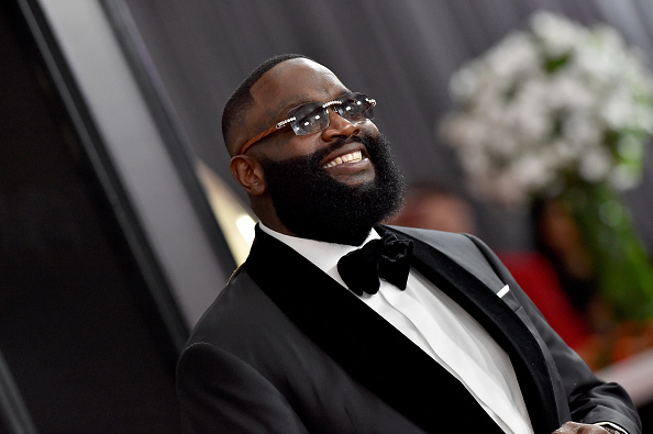 Rick Ross attends the 62nd Annual GRAMMY Awards at Staples Center on January 26, 2020 in Los Angeles, California.