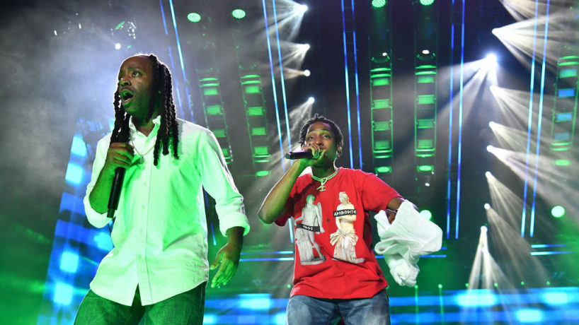 Ying Yang Twins perform at Essence Festival