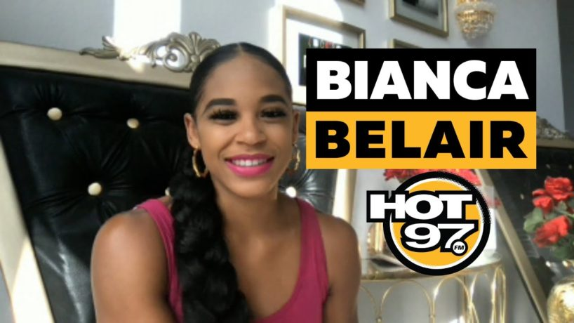 Bianca Belair On Ebro in the Morning