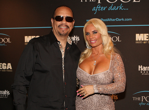 Ice-T and Coco host The Pool After Dark at Harrah's Resort on Saturday November 12, 2011 in Atlantic City, New Jersey.