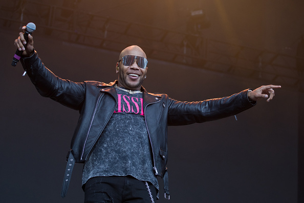 ARLINGTON, TEXAS - MAY 11: Rapper Flo Rida performs onstage during day two of KAABOO Texas at AT&T Stadium on May 11, 2019 in Arlington, Texas.