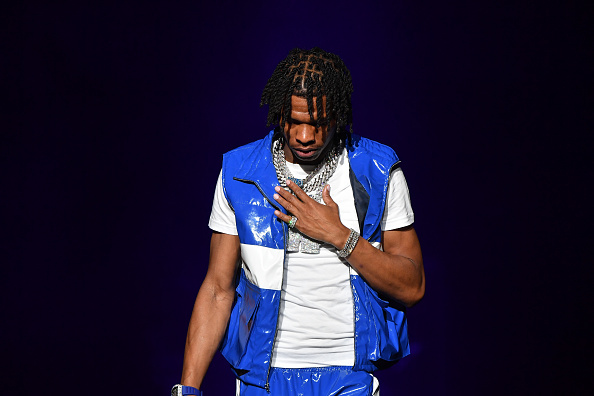 Lil Baby performs onstage during Hot 107.9 Birthday Bash 25 at Center Parc Credit Union Stadium at Georgia State University on July 17, 2021 in Atlanta, Georgia.