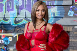 HOLLYWOOD, CA - SEPTEMBER 17: Teairra Mari arrives for VH1's Hip Hop Honors: The 90's Game Changers at Paramount Studios on September 17, 2017 in Hollywood, California.