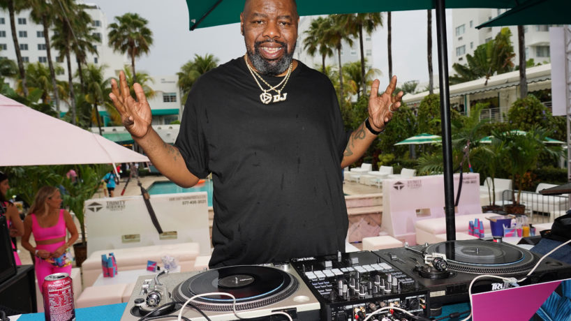 Rapper Biz Markie performs onstage during BACARDI's Big Game Party at Surfcomber Hotel on February 01, 2020 in Miami Beach, Florida.