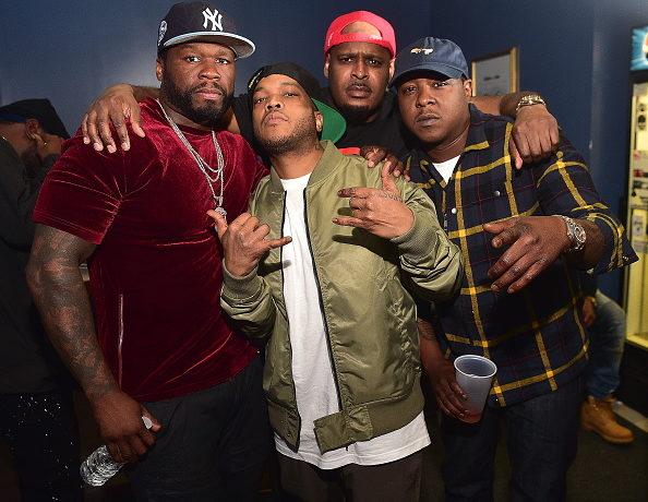 ATLANTA, GA - MARCH 23: 50 Cent, Styles P, Sheek Louch, Jadakiss attend The Lox in Concert - Atlanta, GA at The Masquerade on March 23, 2017 in Atlanta, Georgia.