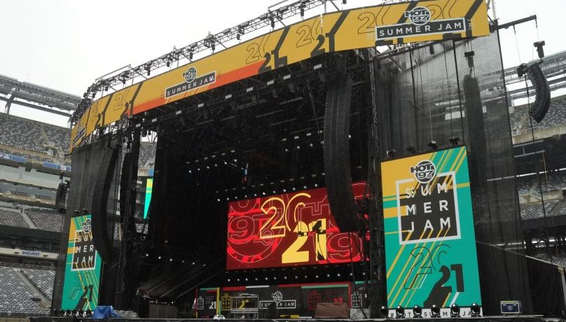 Summer Jam 2021 Stage
