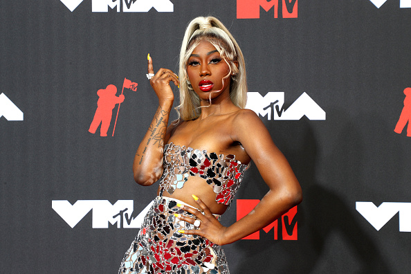 Flo Milli attends the 2021 MTV Video Music Awards at Barclays Center on September 12, 2021 in the Brooklyn borough of New York City.