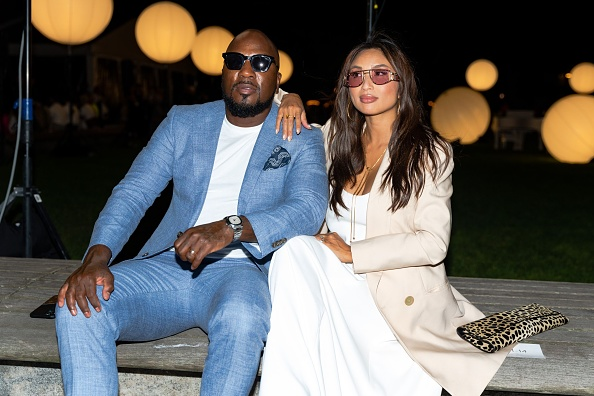 Jeezy and Jeannie Mai attends the Prabal Gurung NYFW Fashion Show at Robert F. Wagner Park on September 08, 2021 in New York City.