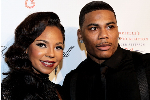 NEW YORK, NY - OCTOBER 22: Ashanti and Nelly attends the Angel Ball 2012 at Cipriani Wall Street on October 22, 2012 in New York City.
