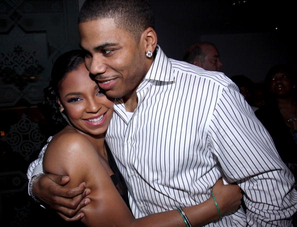 """NEW YORK - JUNE 18: Ashanti and Nelly attend """"The Wiz"""" Encores! Summer Stars Series Opening Night Party at K Lounge on June 18, 2009 in New York City."""