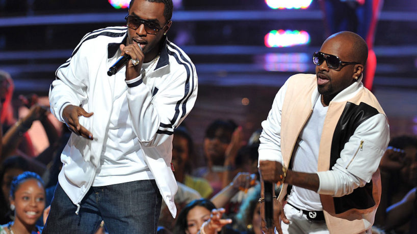 Musicians Sean 'Diddy' Combs and Jermaine Dupri perform onstage at the 2010 Vh1 Hip Hop Honors at Hammerstein Ballroom on June 3, 2010 in New York City.